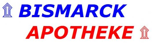 Bismarck Apotheke Logo